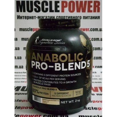 Kevin Levrone  Anabolic Pro Blend 80% Protein 2000 грамм