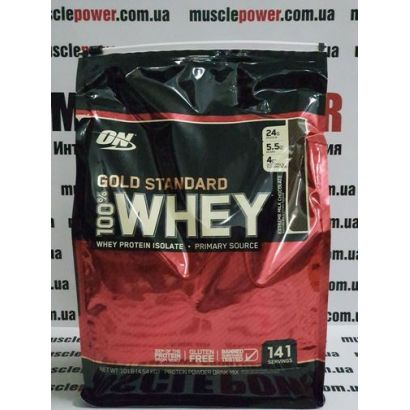 Optimum Nutrition 100% Whey Gold Standard 4545 грамм
