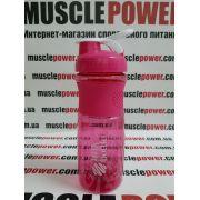 Bottle Mix 760 ml pink с металлической пружиной