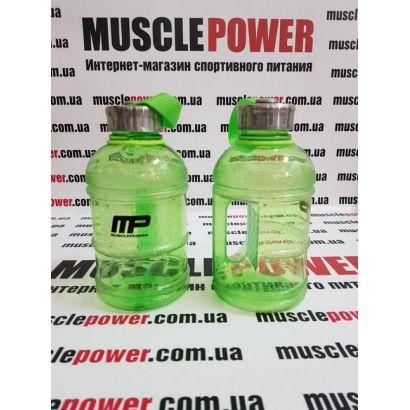 MusclePharm  Gallon water bottle 1000 ml  Neon green