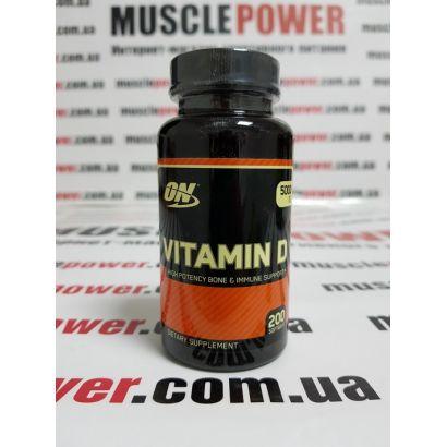 Optimum Nutrition Vitamin D 5000  200  капс
