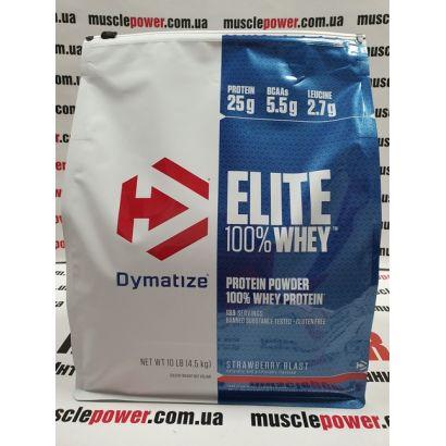 Dymatize Nutrition Elite Whey Protein 4540грамм