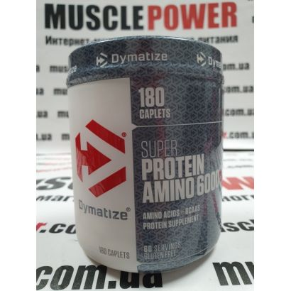 Dymatize Nutrition Super Amino 6000  180 таб