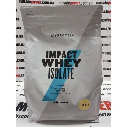 MyProtein Impact whey isolate 2500 грамм