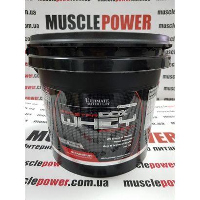 Ultimate Nutrition Prostar Whey 4540 грамм