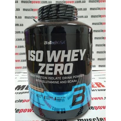 BioTech ISO Whey ZERO 2270 грамм