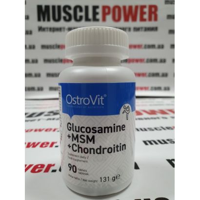 OstroVit Glucosamine MSM Chondroitin 90 таб