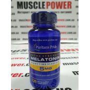 Puritan's Pride Melatonin 5 mg  120 капс