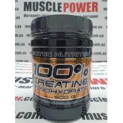 Scitec Nutrition 100 % Creatine Monohydrate  500 грамм