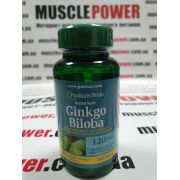 Puritan's Pride Ginkgo Biloba Standardized Extract 120 mg 100 капс