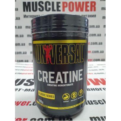 Universal Nutrition Creatine Monohydrate  500 грамм