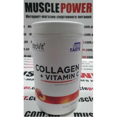 OstroVit COLLAGEN + VITAMIN C 400 грамм