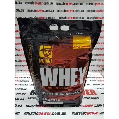 Mutant  Whey 4540 грамм
