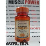 Puritan`s Pride Vitamin C-1000 mg 60 таб