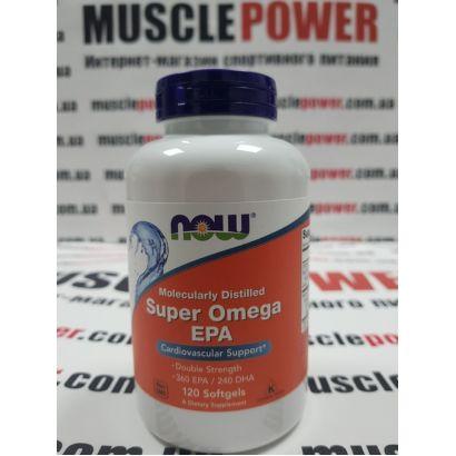 NOW Foods SUPER OMEGA EPA 1200 MG 360/240  120 капс