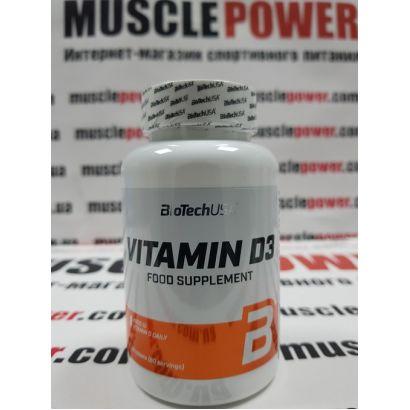 BioTech Vitamine D3 50 mcg 60 таб
