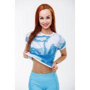 T-Shirt Mini -Light Aqua